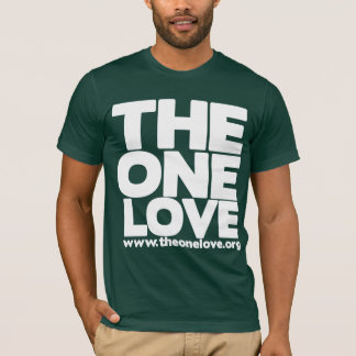 The One Love Block Shirt - American Apparrel