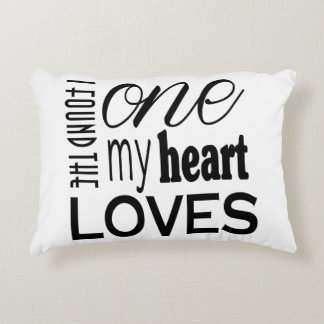 The One My Heart Loves Pillow