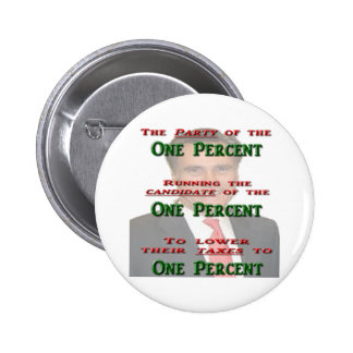 The One Percent Buttons