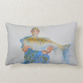 The one that didn't get away lumbar pillow