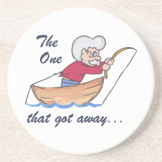 THE ONE THAT GOT AWAY BEVERAGE COASTERS