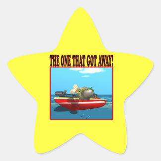 The One That Got Away Star Sticker