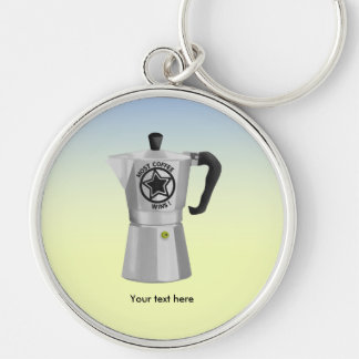 The one who drinks the most coffee wins keychain