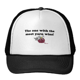The One With The Most Yarn Wins Trucker Hat