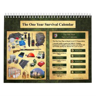 The One Year Survival Calendar