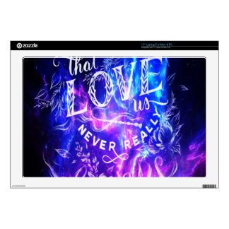 The Ones that Love Us Amethyst Dreams Decal For Laptop