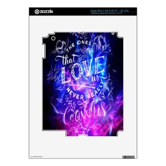 The Ones that Love Us Amethyst Dreams iPad 3 Skin