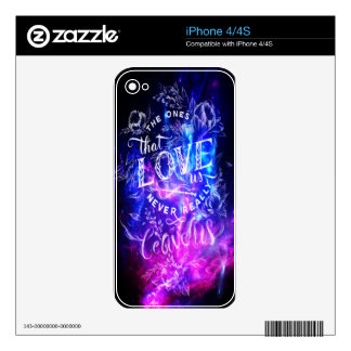 The Ones that Love Us Amethyst Dreams iPhone 4S Decal