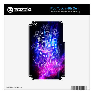 The Ones that Love Us Amethyst Dreams iPod Touch 4G Decal