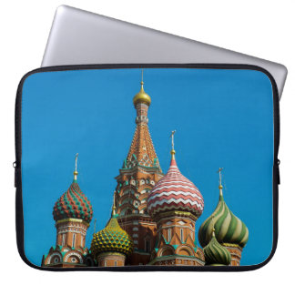 The onion domes of Saint Basil's Cathedral, Moscow Computer Sleeves