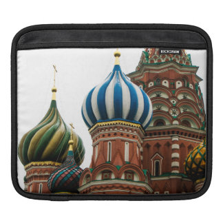 The onion domes of Saint Basil's Cathedral, Moscow iPad Sleeve