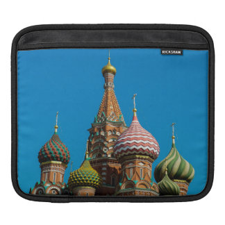 The onion domes of Saint Basil's Cathedral, Moscow Sleeves For iPads