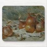 The Onions (Oignons) Pierre-Auguste Renoir Mousepad