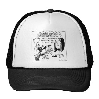The Only Animals Harmed Were Eaten Hat