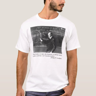 """The only barrier to human development..."" T-Shirt"