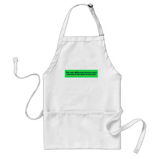 The only difference between men and boys adult apron