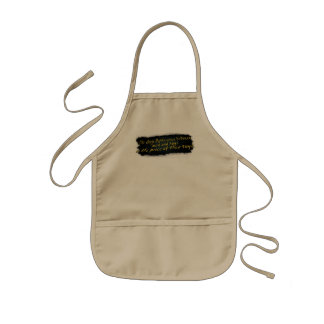 The Only Difference Between Men & Boys.... Kids' Apron