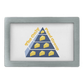 The Only Food Group Belt Buckle