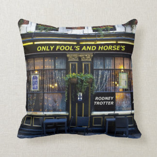 The Only Fool's and Horse's Throw Pillow