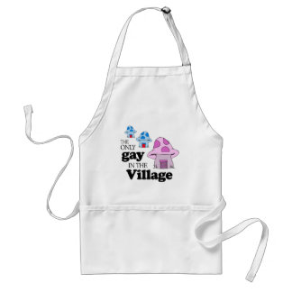 The only gay in the village adult apron