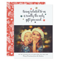 The Only Gift You Need | Holiday Photo Card