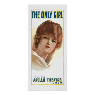 The Only Girl (Vintage ads) Poster
