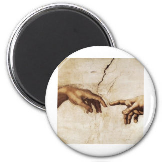The Only Good Hand Out ! 2 Inch Round Magnet