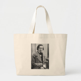 The Only Known Photograph of Frederic Chopin Jumbo Tote Bag