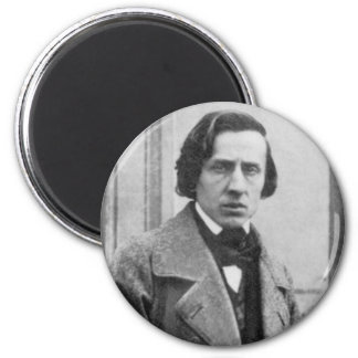 The Only Known Photograph of Frederic Chopin Magnet