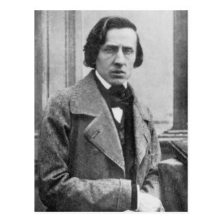 The Only Known Photograph of Frederic Chopin Postcard