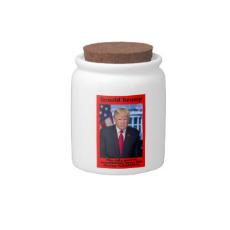 The Only Person Benefitting - Anti Trump Candy Dish