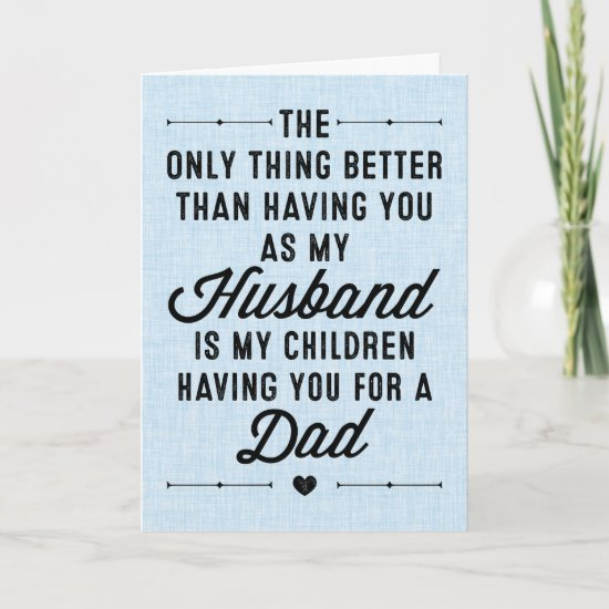 The Only Thing Better Card