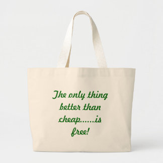 The Only Thing Large Tote Bag