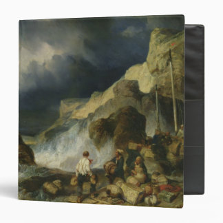 The Onslaught of the Smugglers, c.1837 Vinyl Binders