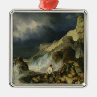 The Onslaught of the Smugglers, c.1837 Metal Ornament