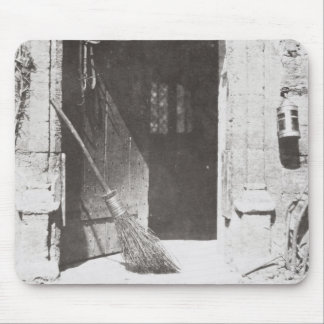 The Open Door, March, 1843 (b/w photo) Mouse Pad