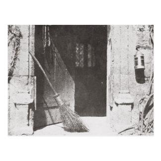 The Open Door, March, 1843 (b/w photo) Postcard