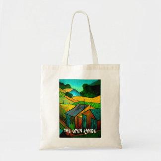 The open range tote bag