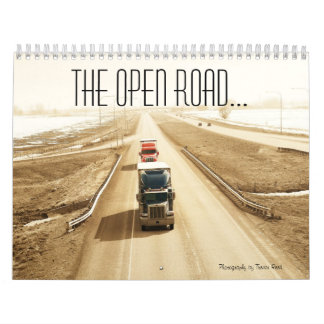 The open road calendar