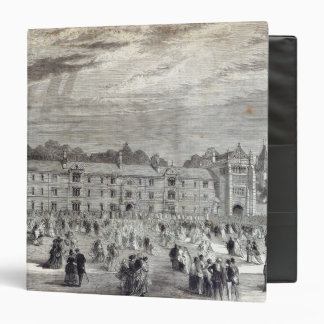The Opening of Keble College, Oxford 3 Ring Binder