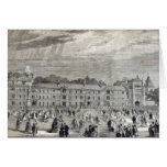 The Opening of Keble College, Oxford Greeting Card