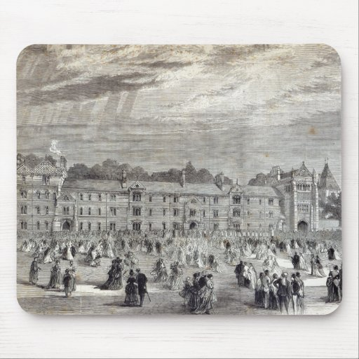 The Opening of Keble College, Oxford Mouse Pad