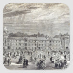 The Opening of Keble College, Oxford Square Sticker