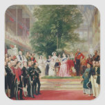 The Opening of the Great Exhibition, 1851-52 Square Sticker