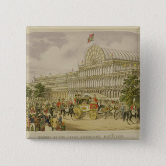 The Opening of the Great Exhibition, May 1st 1851, Button