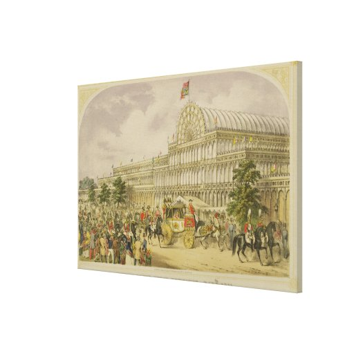 The Opening of the Great Exhibition, May 1st 1851, Canvas Print