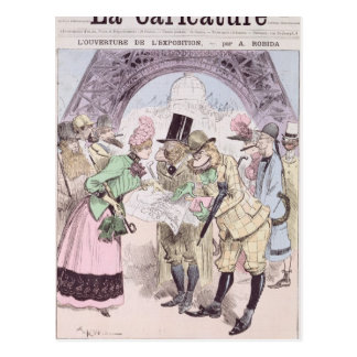The Opening of the Universal Exhibition Postcard
