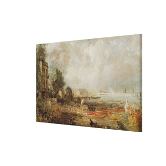 The Opening of Waterloo Bridge, c.1829-31 (oil on Canvas Print