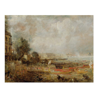 The Opening of Waterloo Bridge, c.1829-31 (oil on Postcard