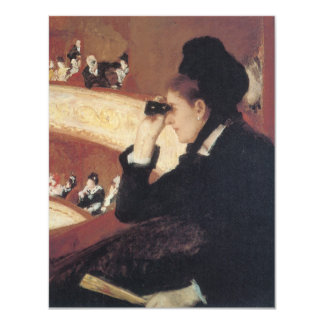 The Opera by Mary Cassatt, Vintage Impressionism Card